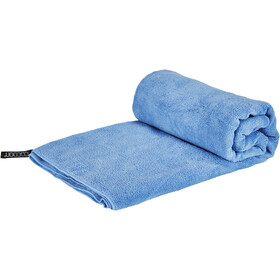 Cocoon Microfiber Terry Serviette pour chien Léger Large, light blue